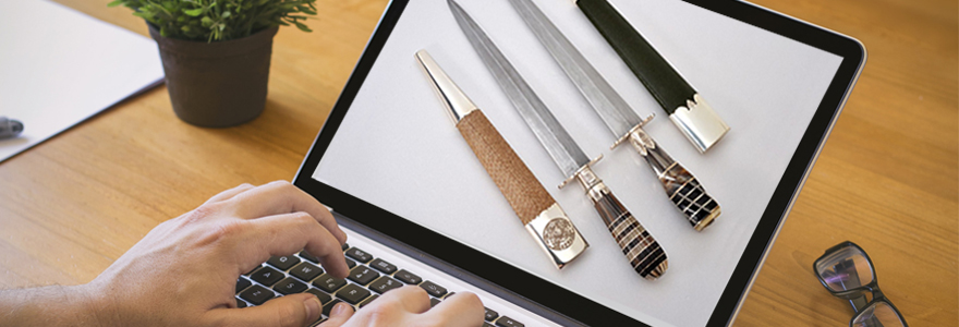couteau de survie en ligne